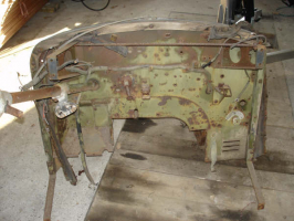 Gutting and repairing the chassis