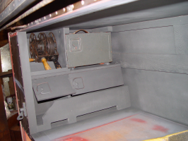 Luggage compartment left side