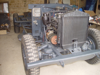 Kfz 17/1 restoration part 1: The chassis