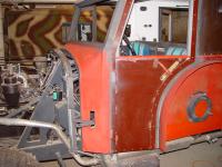 Kfz 17/1 restoration part 3: Body sheetwork