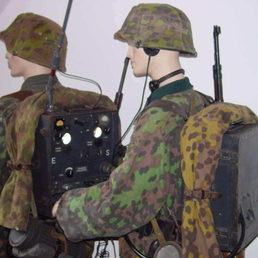 German uniforms and equipment