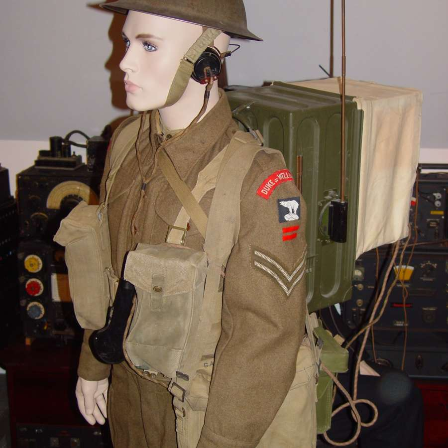 British/Canadian uniforms and equipment