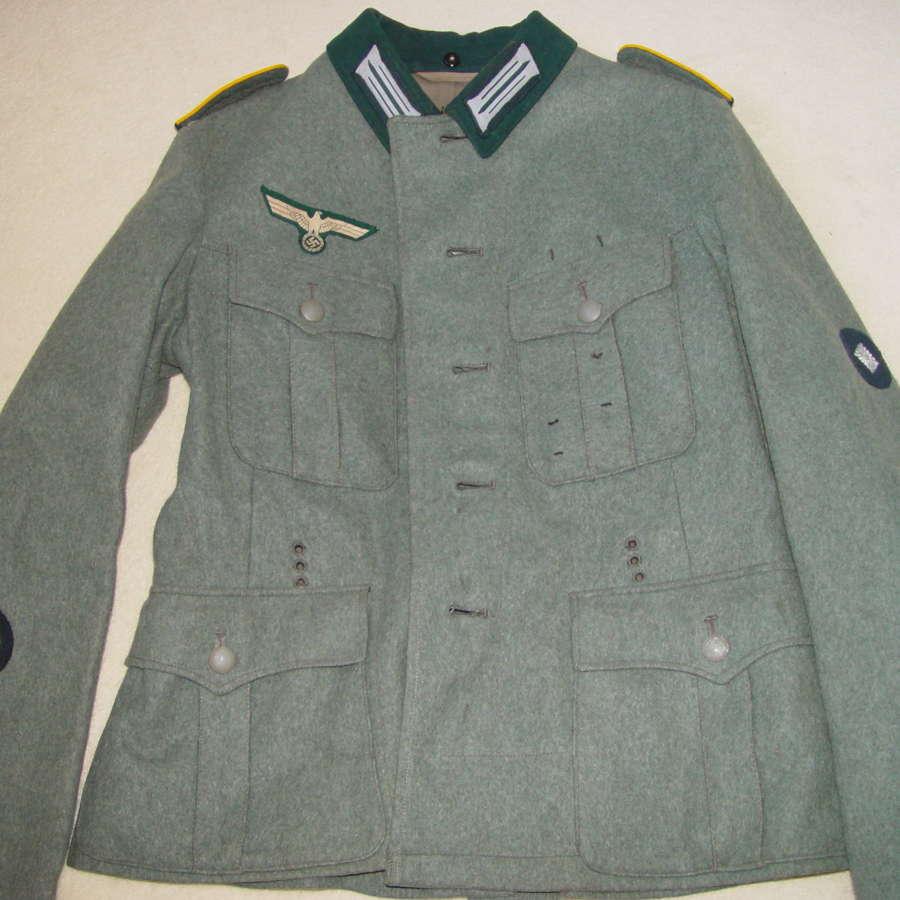 Wehrmacht M36 cavalry tunic