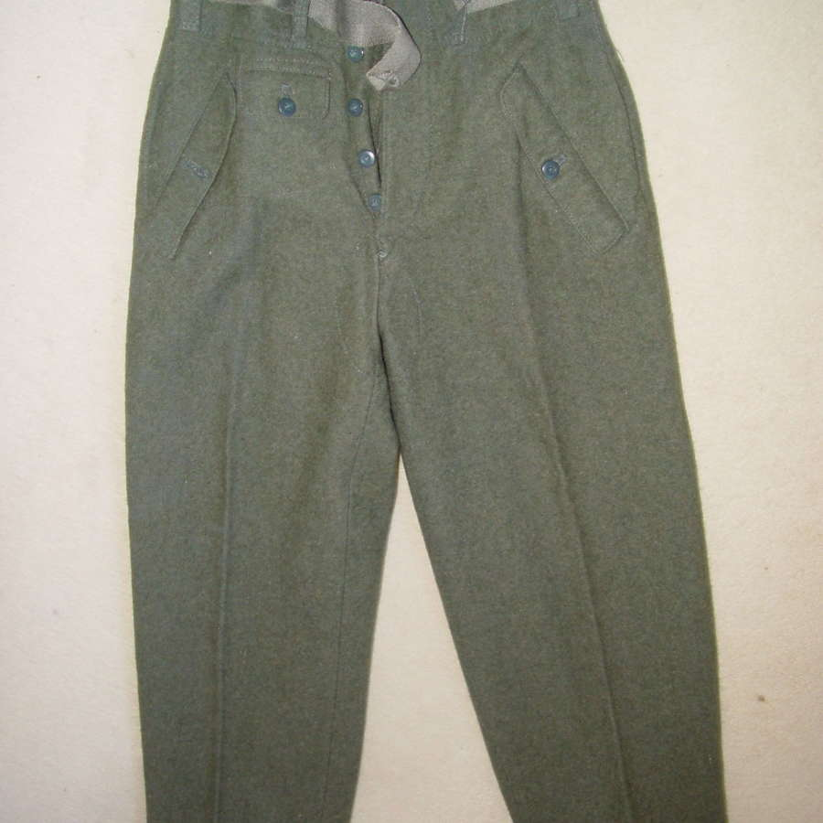Rare Wehrmacht / SS M44 trousers