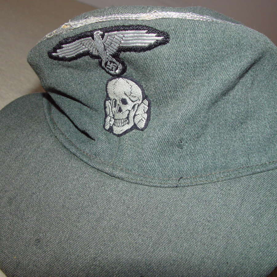 Gabardine SS officer's M43 cap