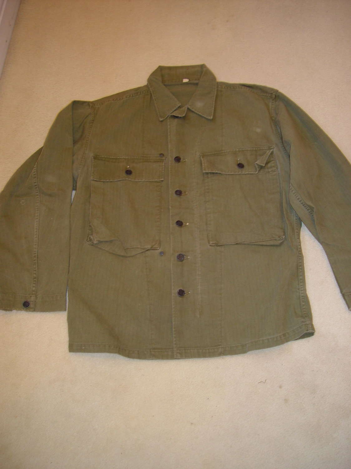 US Army HBT jacket