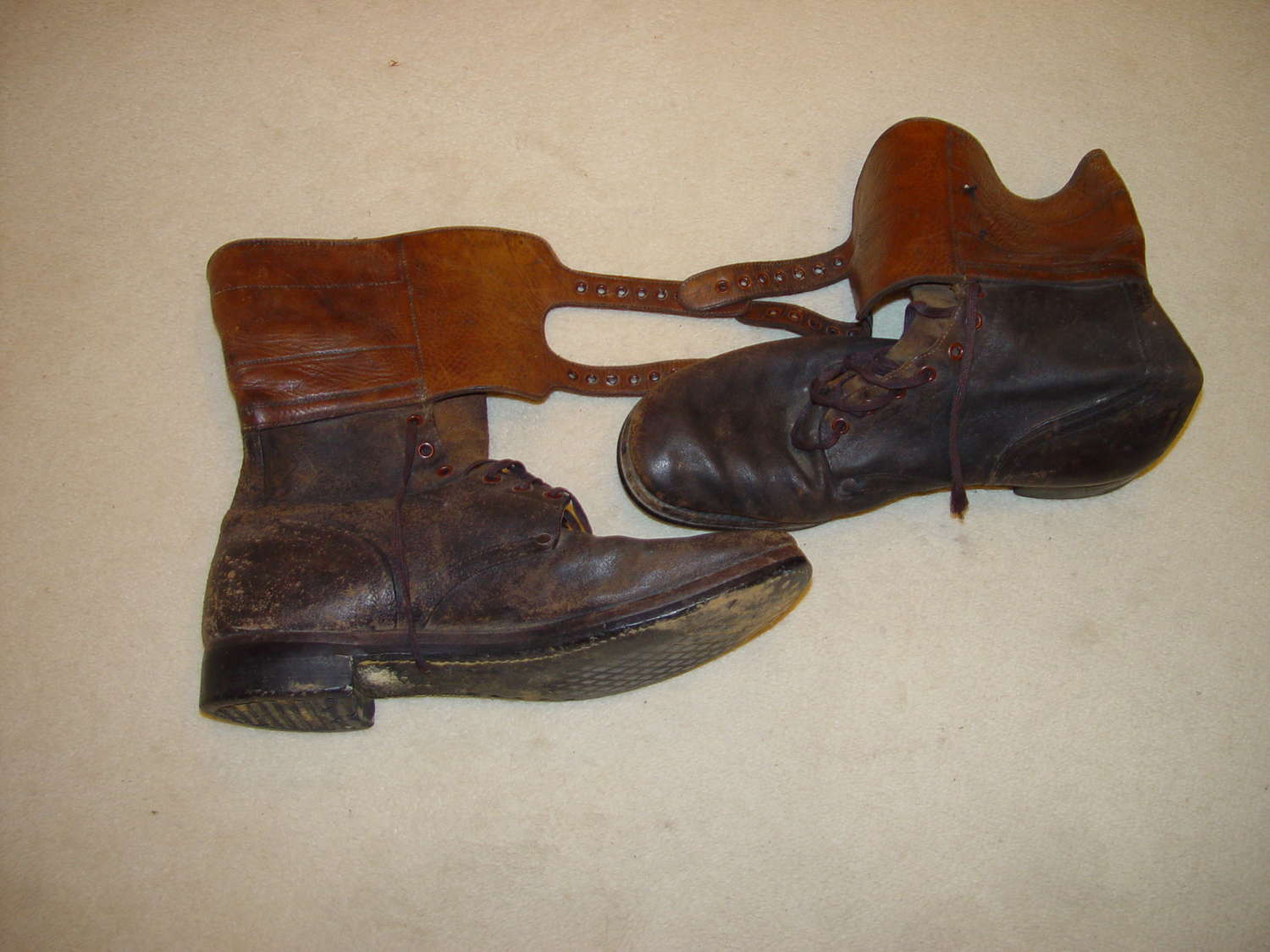 US army late war buckle boots