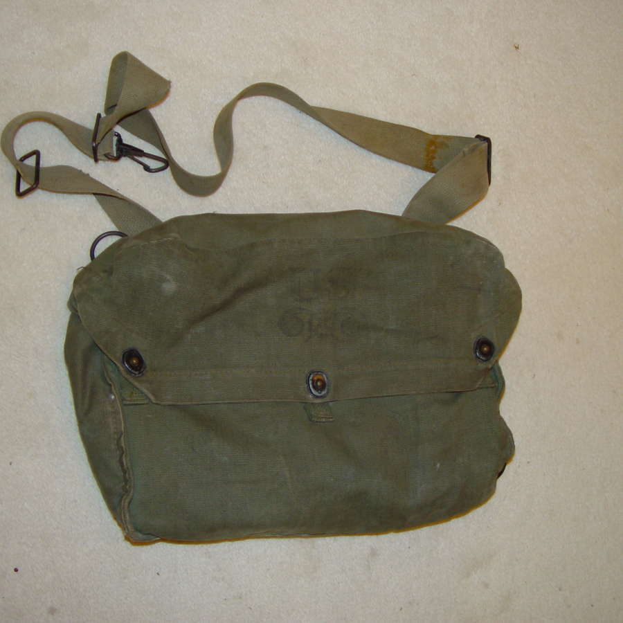 US Army M3 light respirator bag in OD#7