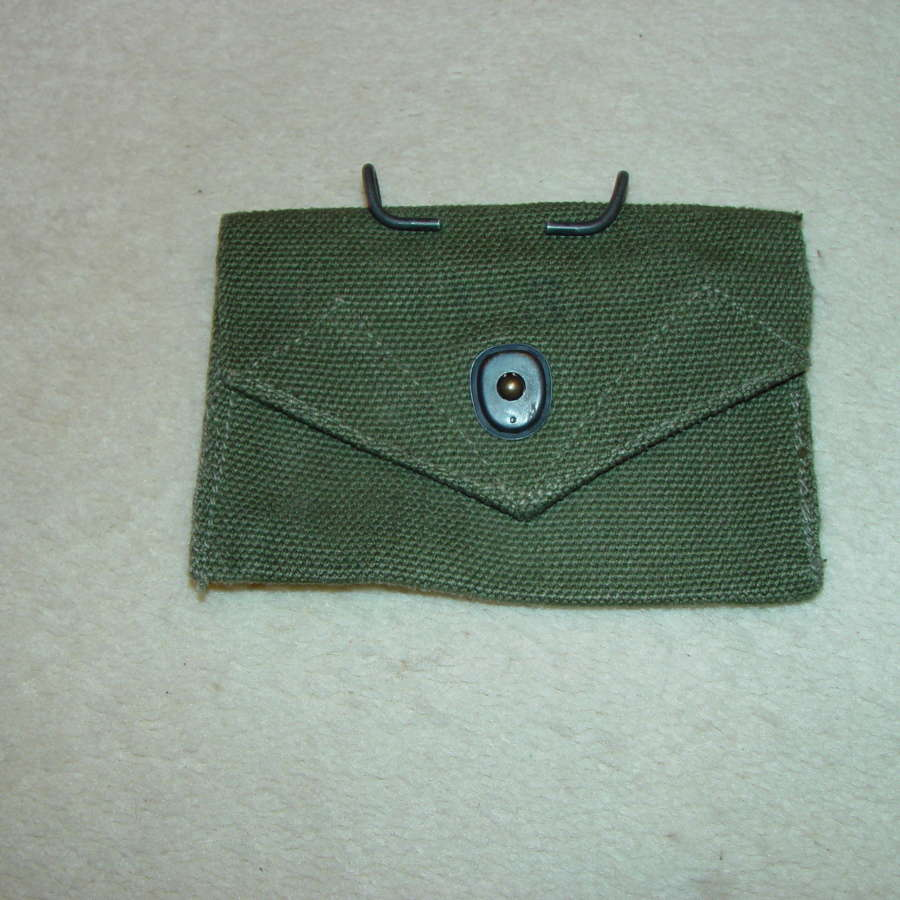 US Army first aid pouch in OD#7