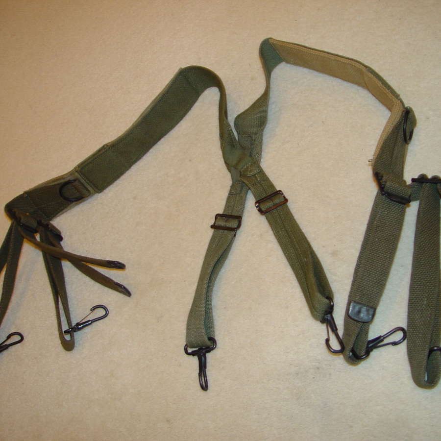 US army M44 suspenders in OD#7