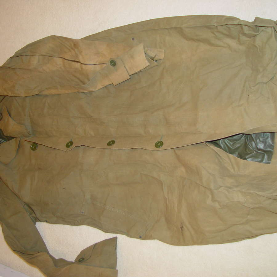 US army raincoat