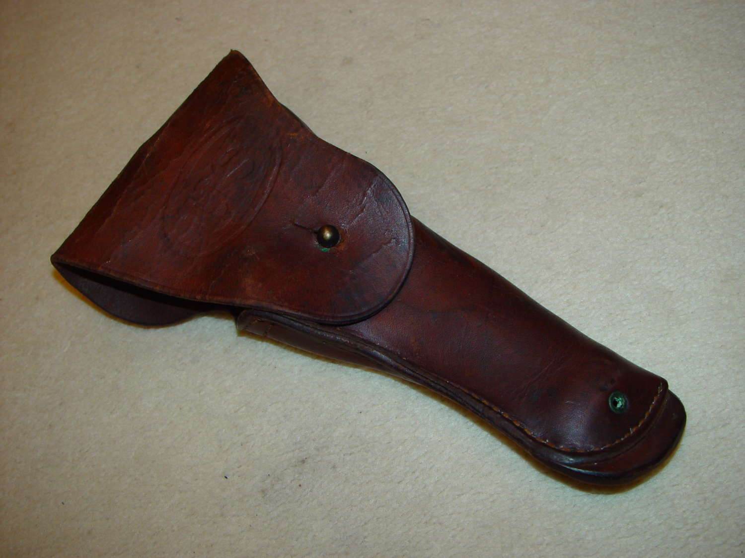 US army leather Browning holster