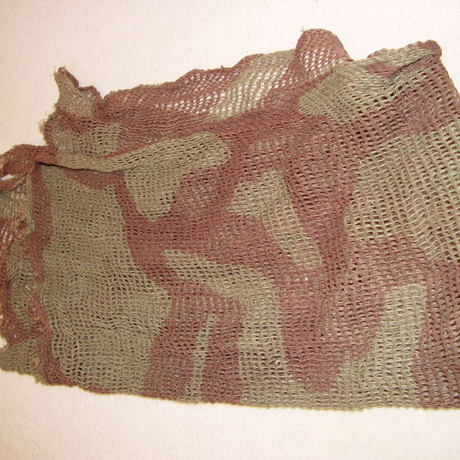 British Army camouflage scarf