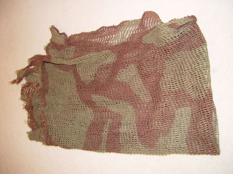 British Army camouflage scarf