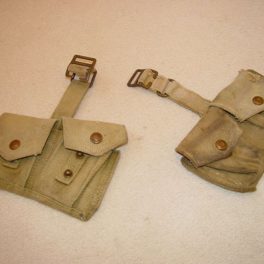 British Army ammunition pouches