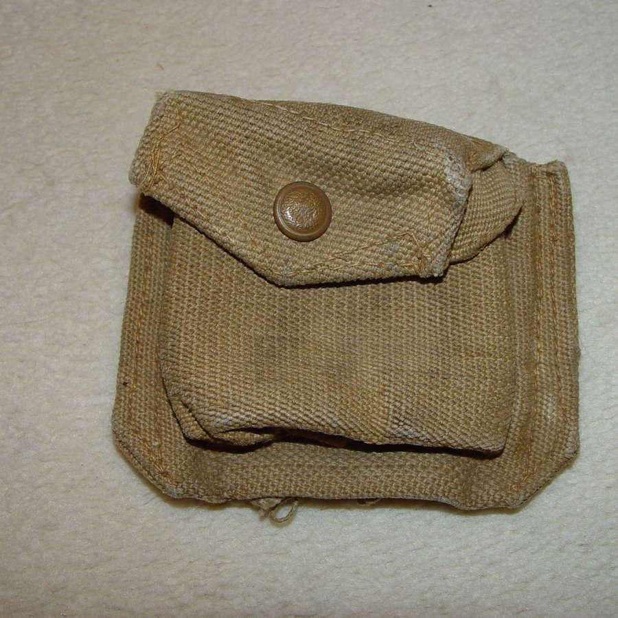 British Army pistol ammunition pouch
