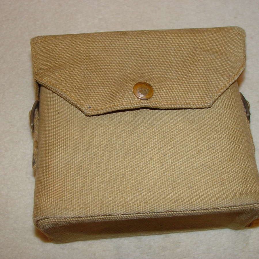 British Army binocular case