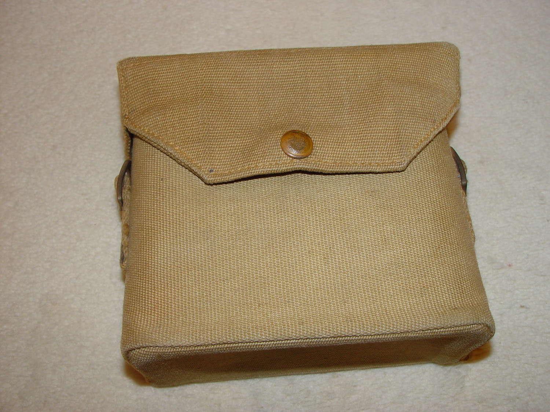 British Army binocular case