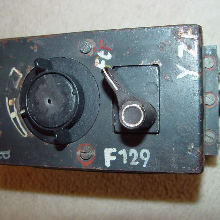 German Luftwaffe AdB16ya control unit for the FuG16zy radio