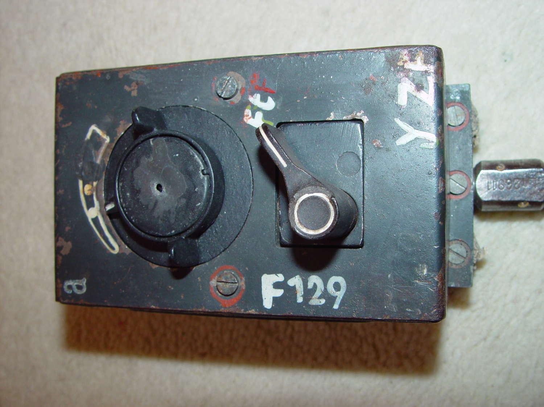 German Luftwaffe AdB16ya control unit for the FuG16zy radio