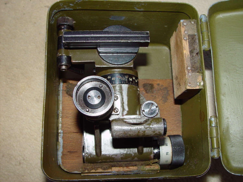 Wehrmacht 8cm Mortar RA35 optical sight