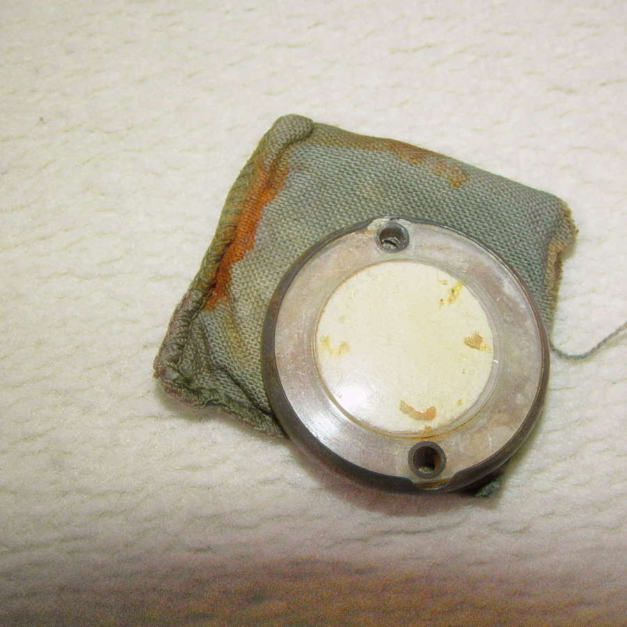 Original US paratrooper luminous disk