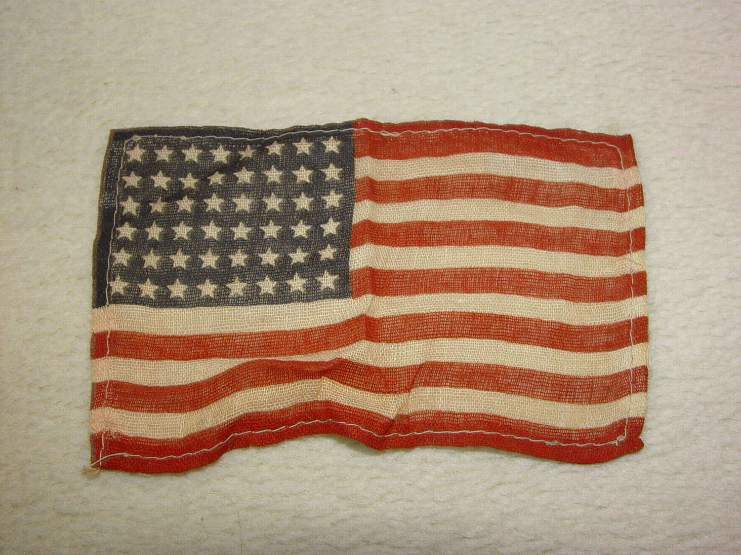 US 48 star small gauze invasion flag