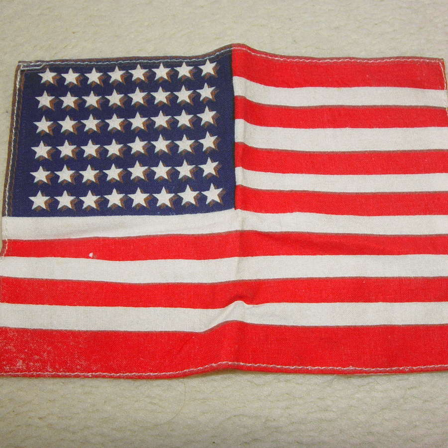 US army 48 star cotton invasion flag
