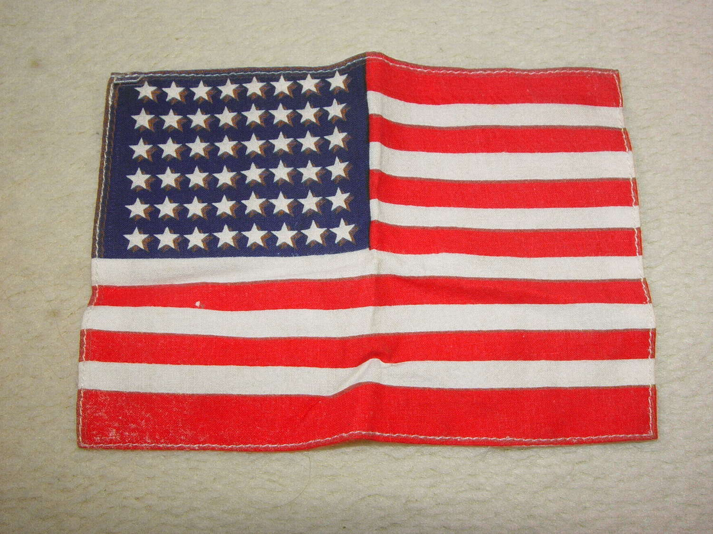 US army 48 star cotton invasion flag