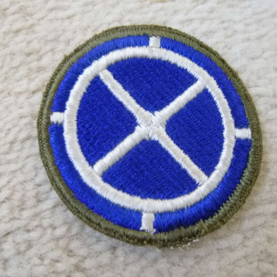 US army 35th infantry division patch