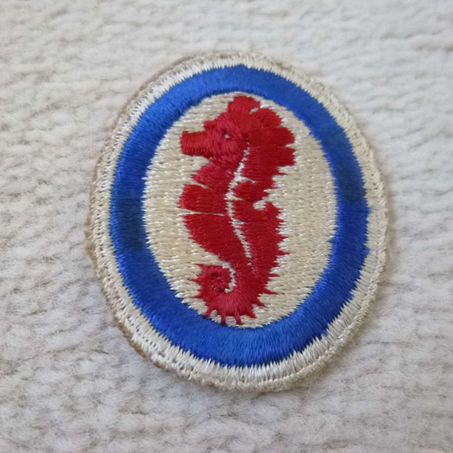 US army amphibious training command patch