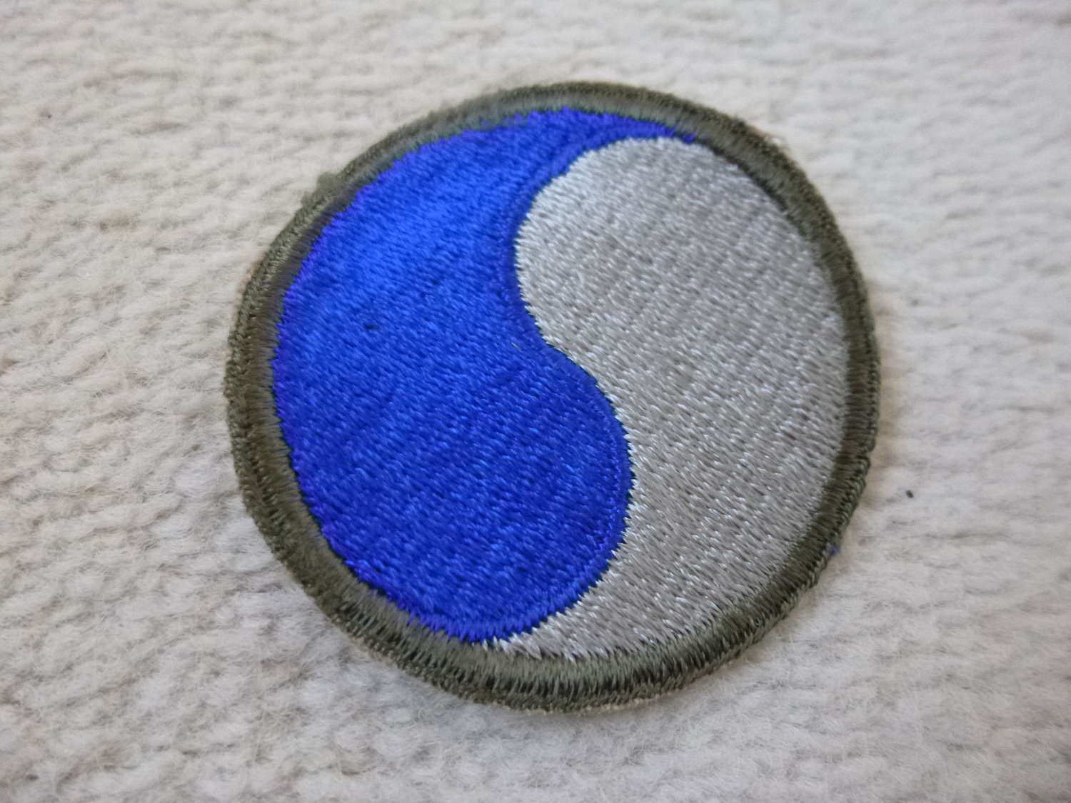 US army 29th Infantry division patch