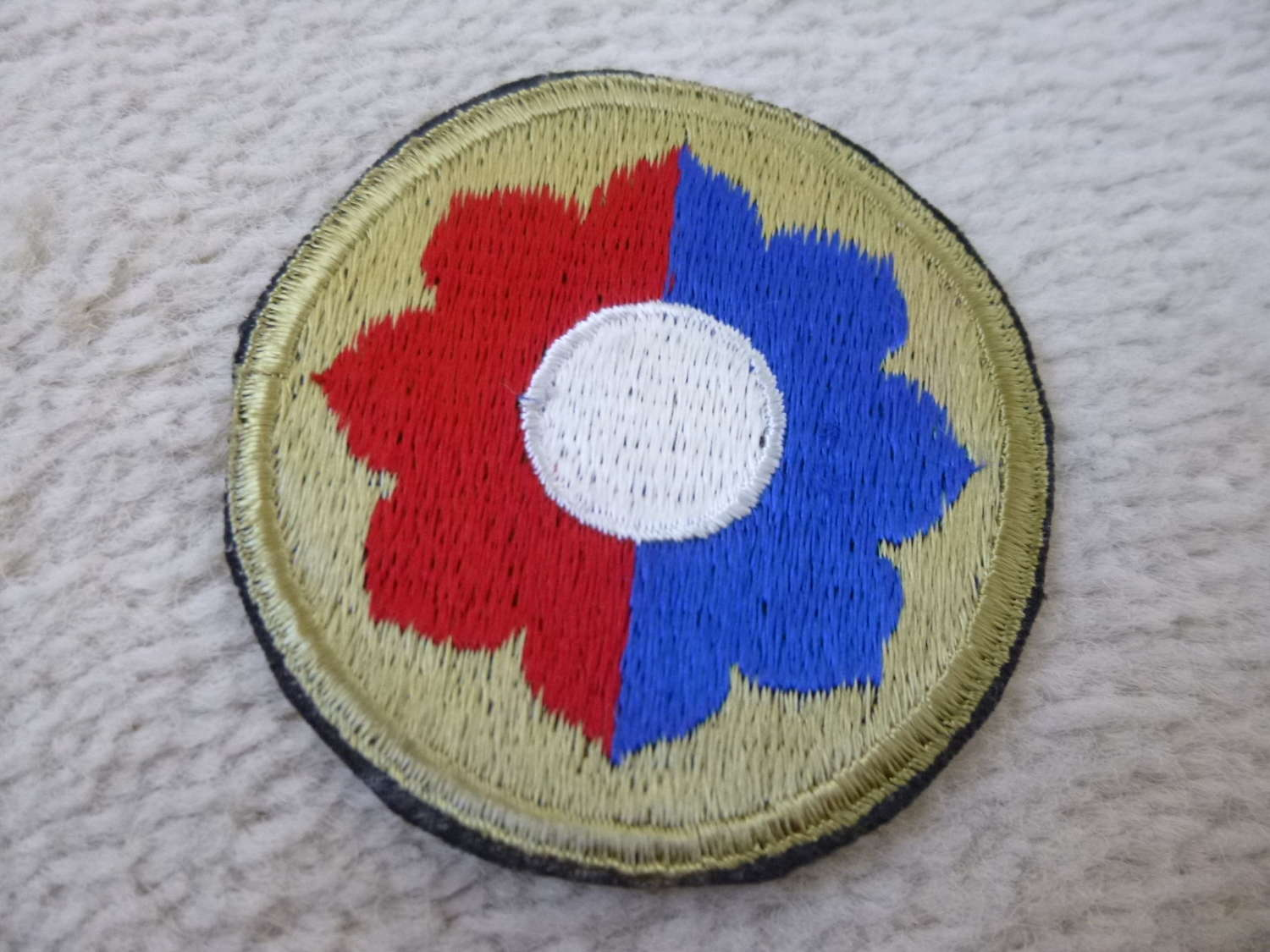 US army 9th infantry division patch