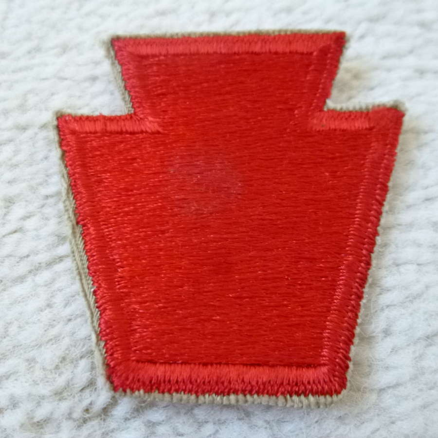 US army 28th infantry division patch