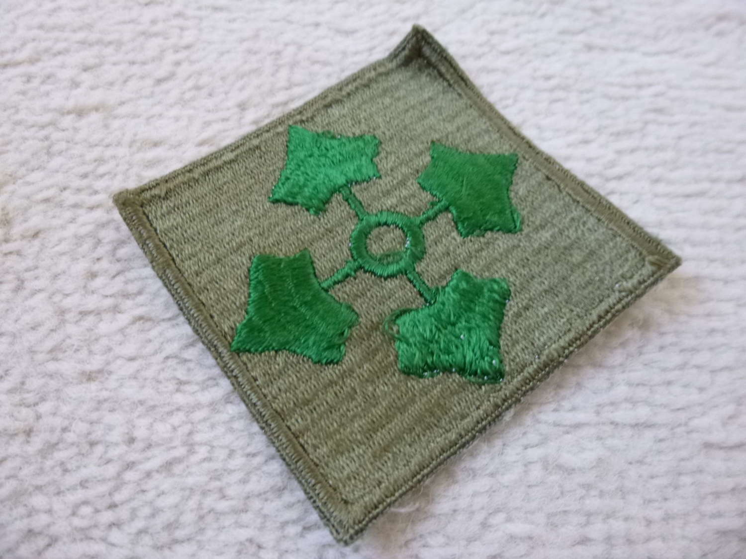 US army 4th infantry division patch