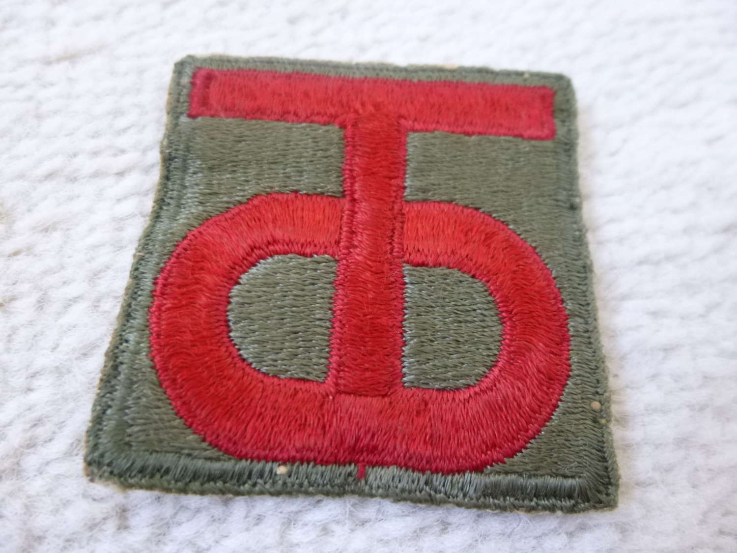 US army 90th division patch