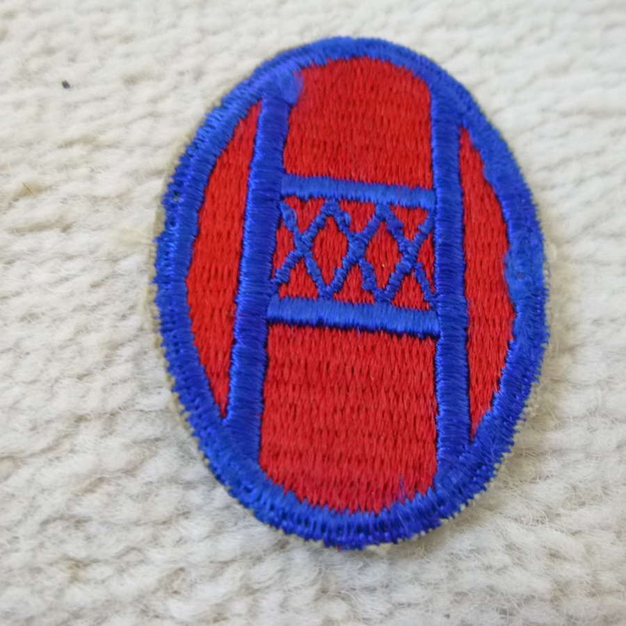 US army 30th infantry division patch