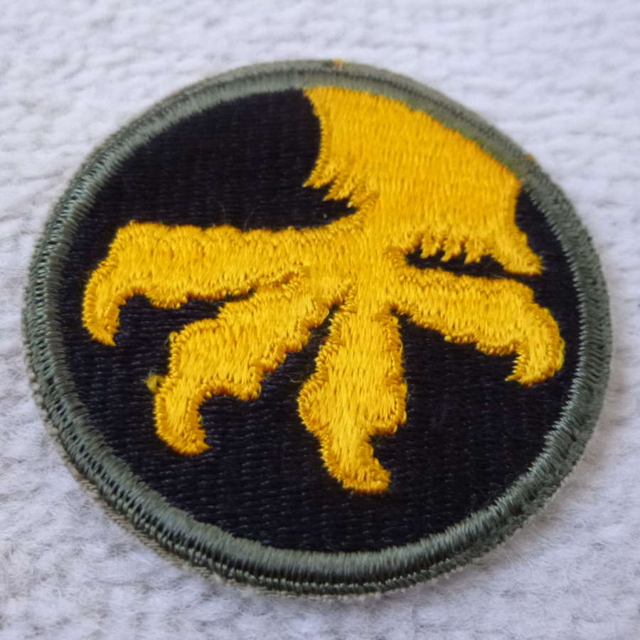 US army 17th airborne division patch