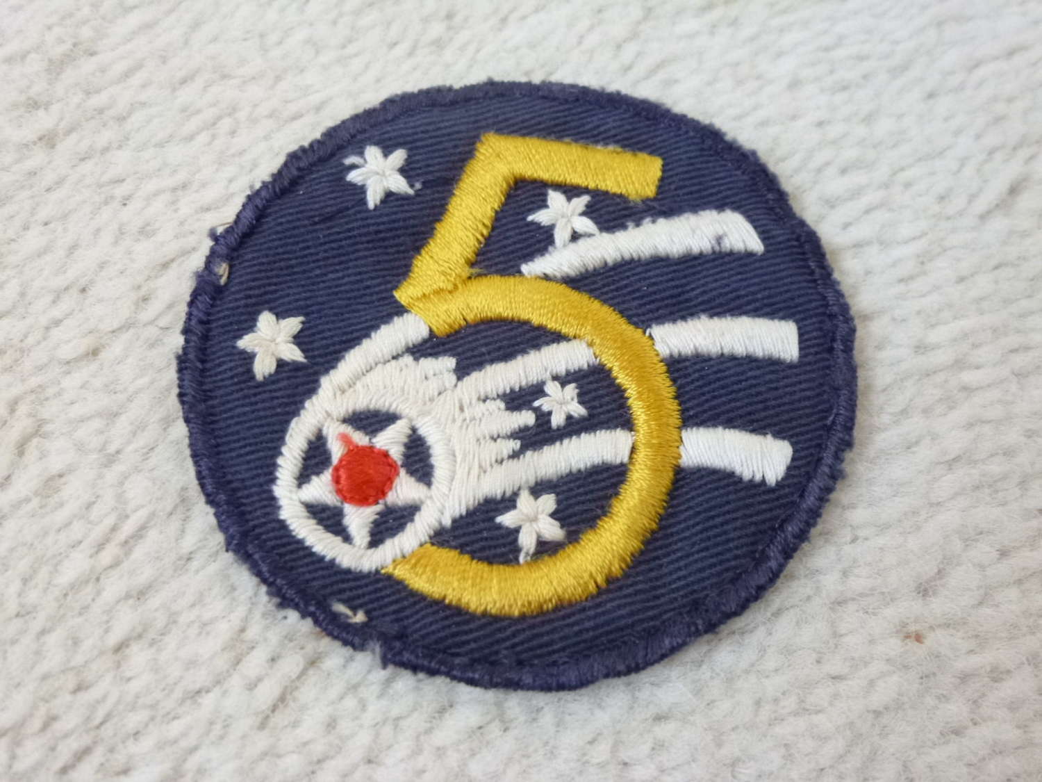 US Army 5th Airforce formation patch