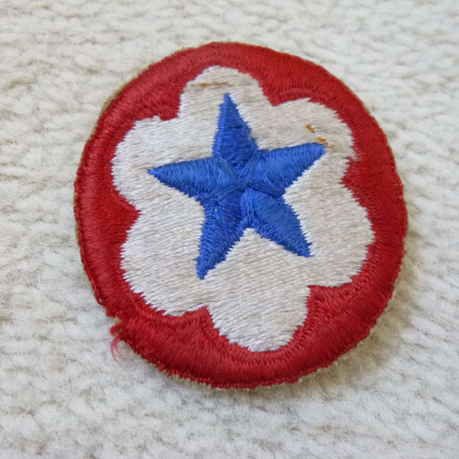 US army Army Service Forces shoulder patch