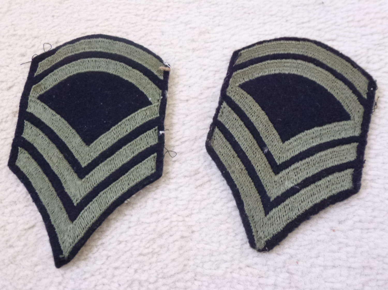 US Army sergeant stripes