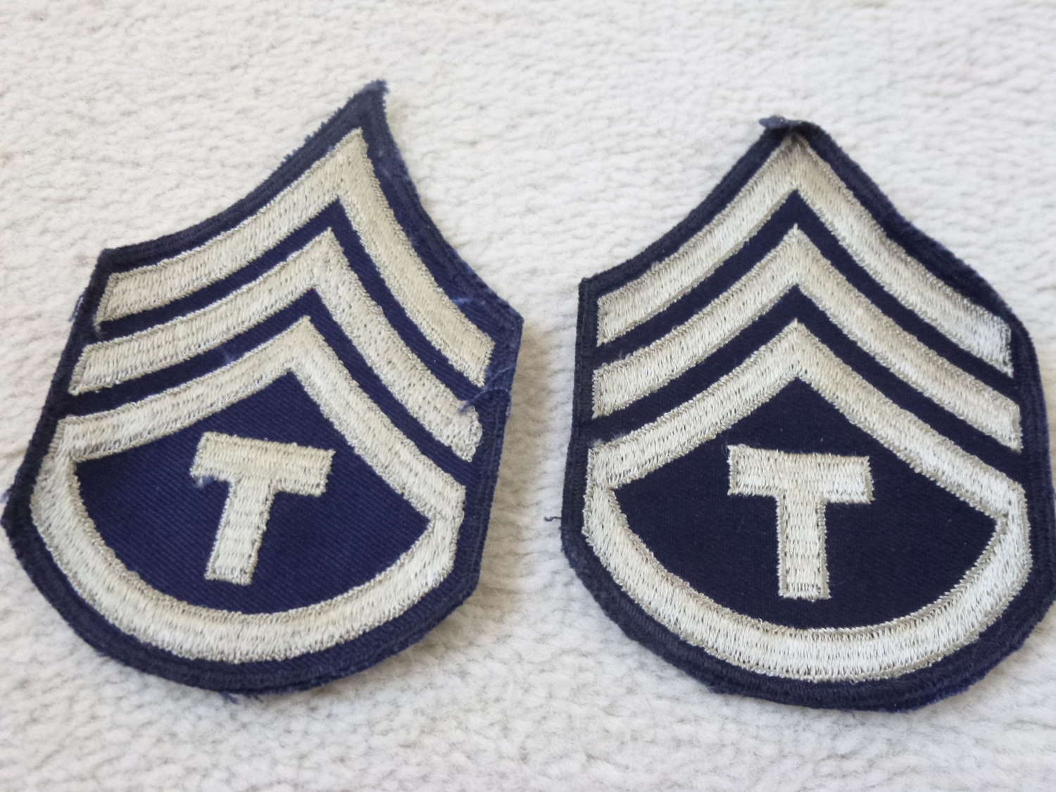 US army Technical Sergeant stripes