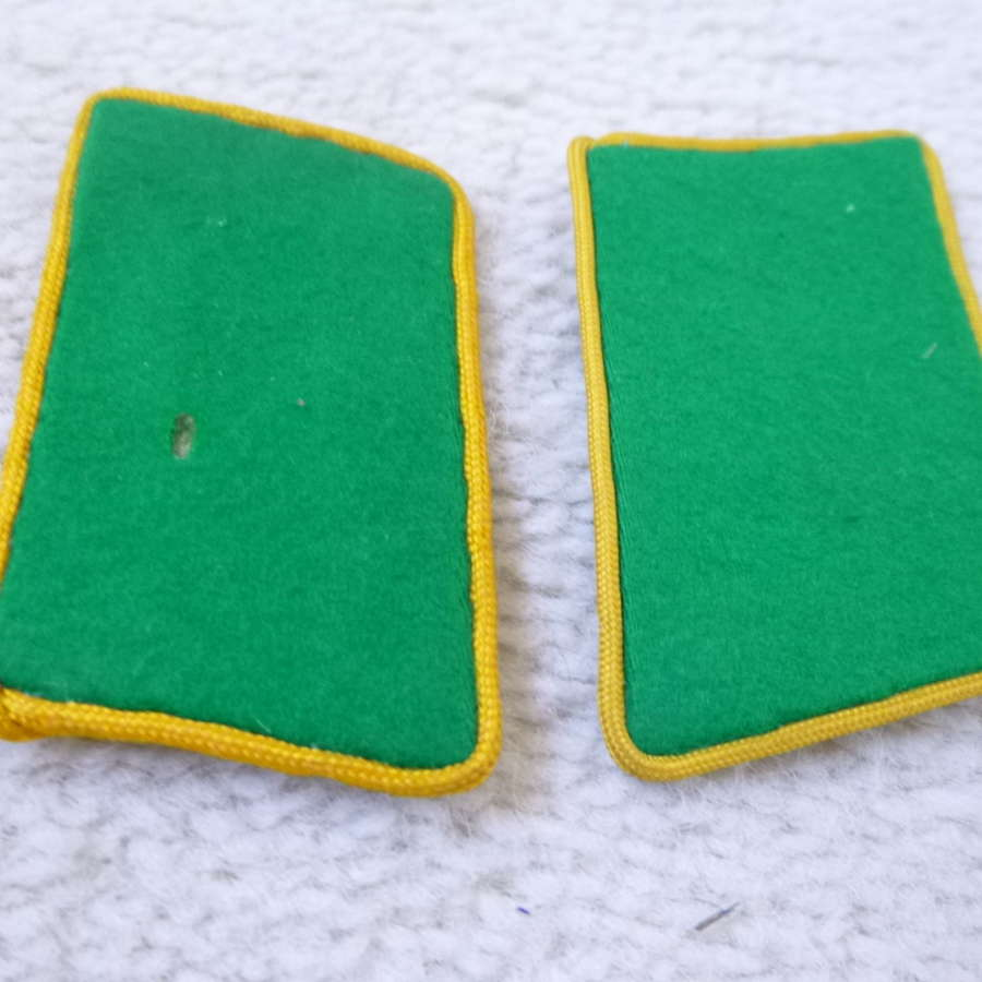 German Luftwaffe field division reconnaissance collar patches