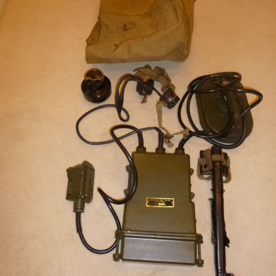 British Army mark 4a mine detector