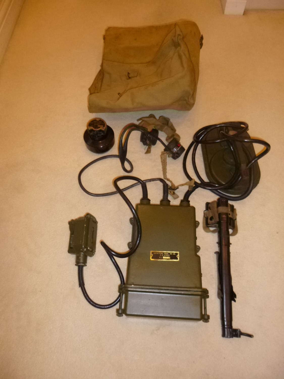 British Army mark 4a mine detector