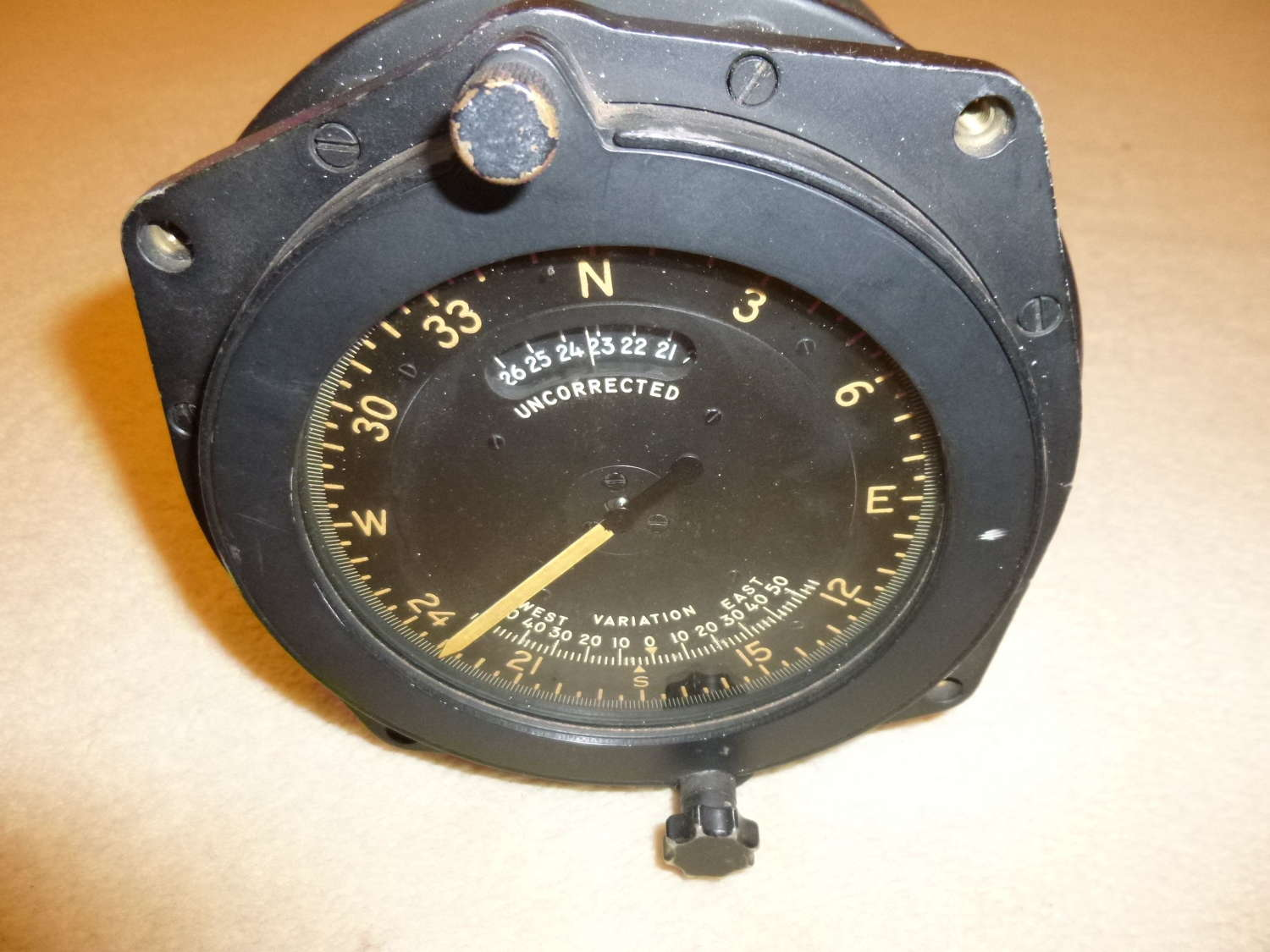 US army Air Force flux gate master compass indicator