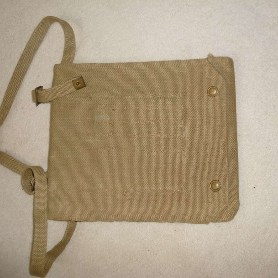 British Army officer's map case