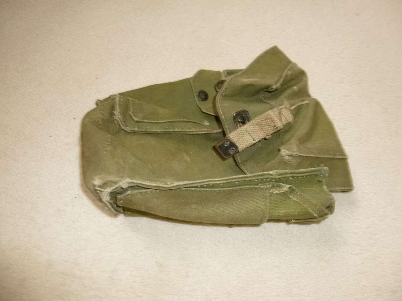 British Army lightweight respirator bag