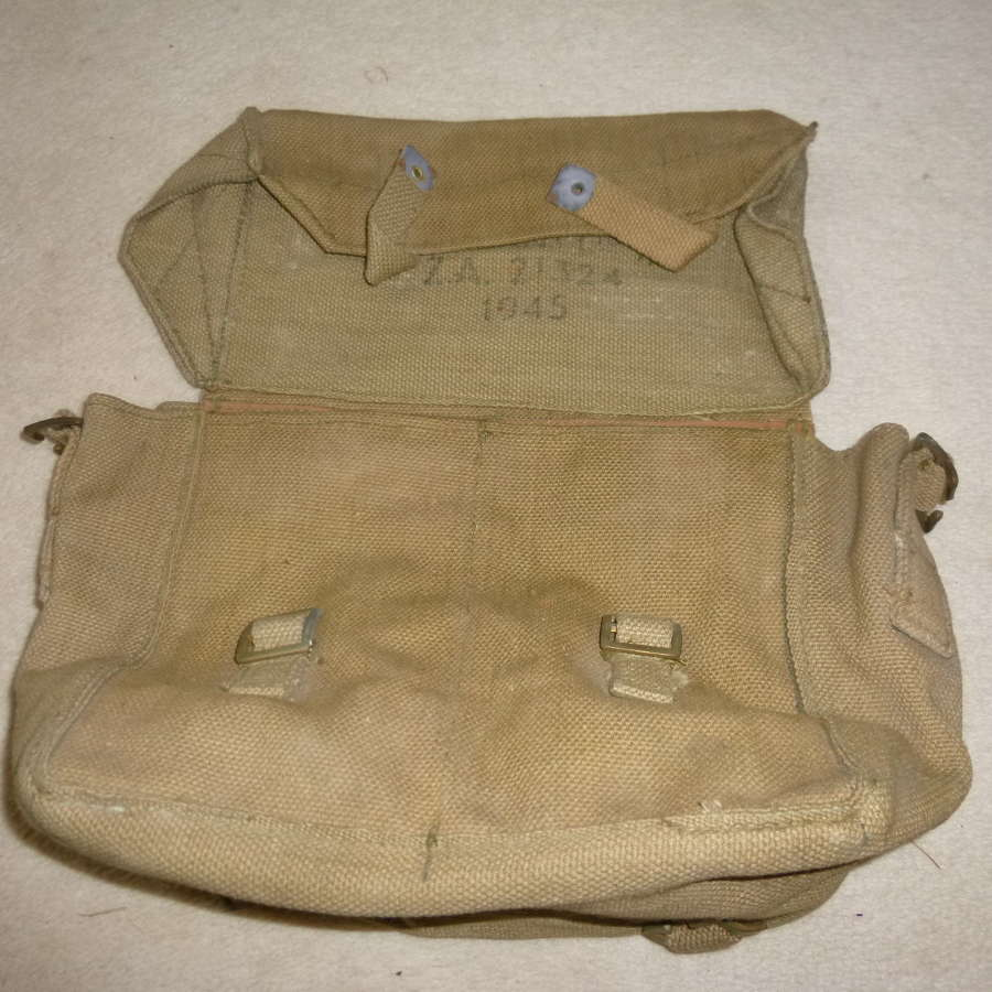 British Army WS38 battery haversack