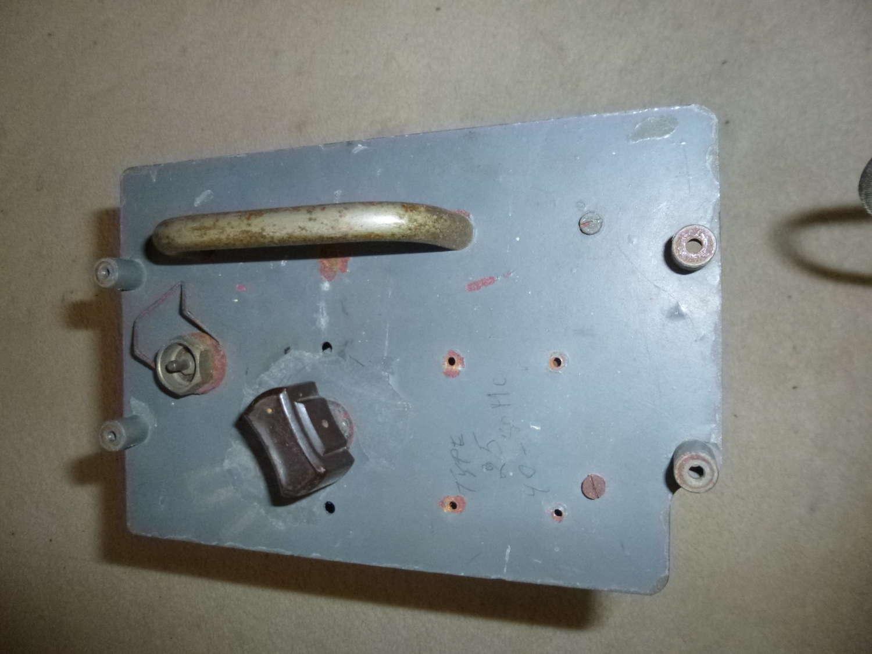 RAF Gee receiver plug in unit